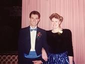 17 - Andrew and Rhonda at 1989 Brisbane Ball