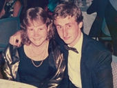 19 - At my first ball with Deanna Nelson