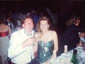 20 - Chris and Larissa at 1989 Brisbane Ball