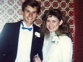 23 - Paul and Nicole at 1989 Brisbane Ball