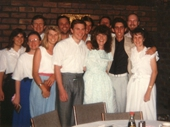 39 - Brisbane singles after dinner at Taringa restaurant