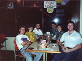 56 - Singles at Kirra Pizza Hut during 1993 feast
