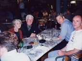 103 - 1998 Noosa Feast - Mr and Mrs Clune, Geoff and Trevor at Jaspers