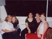 75 - Noosa Feast -  Karen, Melinda, Alisha, Melissa and Tina on Singles cruise