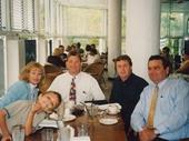 82 - 2001 Noosa Feast - Leah and Elgie, myself and Evan