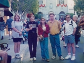 104 - Melinda, Michelle, myself and Peter at Movieworld