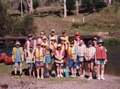 107 Our United kids ready to head off down the Brisbane River