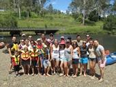 17 - Brisbane River canoe trip