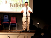 19 - UCG's Got Talent Show - Me as Pope Luigi Guiseppi