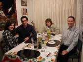 37 - Ellen, Derek, Helen & Mark at my place