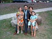 73 - Sal and Anita Anastasi and their kids Sara and Georgio