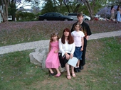 75 - Veronica Blick and her kids Claudia, Lydia and Tim