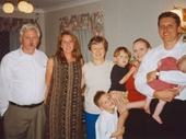 82 - Scott and Mandy Jennings with their kids and Mandy's family