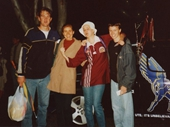 88 - Chris, Michelle, Felicia & Rob at State of Origin game 2002