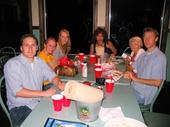 32 - 2007 Panama City Beach Feast - Dinner with friends