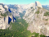 01 - Yosemite National Park (View from Glacier Point Lookout)