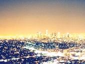 25 - Los Angeles at night