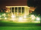26 - Ambassador Auditorium at night