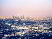 28 - Los Angeles at sunset