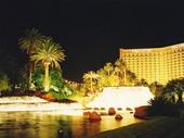 37 - The Mirage at night at Las Vegas