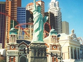 42 - Statue of Liberty at New York New York in Las Vegas