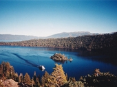 49 - Paddlesteamer in Emerald Bay on Lake Tahoe