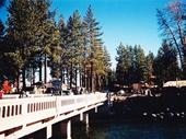 50 - Bridge and Creek along Lake Tahoe