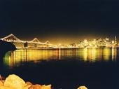 53 - Oakland bay Bridge and San Francisco at night