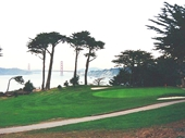 54 - The Golden Gate Bridge from a nearby Golf Course