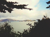 59 - View of Alcatraz from Youth Hostel