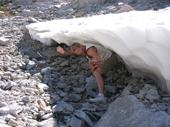 117 - Russ under an Ice Barrel