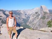 128 - Yosemite National Park - Russ at Glacier Point