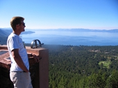 81 - Lake Tahoe - At Incline Point with Russ Smith