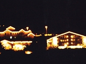 06 - Teton Village at night