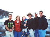 12 - Yours Truly and friends at Yellowstone National Park