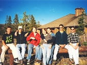 13 - Yours Truly & friends at Yellowstone National Park