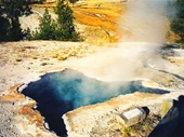 15 - Blue Star Spring at Yellowstone National Park