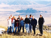 17 - Some Global Friends above Snake River valley