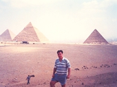 01 - Yours Truly at the Pyramids at Giza