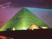 10 - Laser Lights on the Great Pyramid