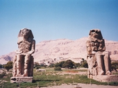 36 - The Collosi at Memnon
