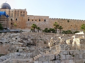 12 - Southern steps where Pilate offered to free Jesus