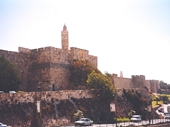 14 - Outside the Walls of Jerusalem near the Tower of David