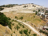 30 - View of Kidron Valley from City of Davi