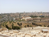52 - Jerusalem from Mount of Olives