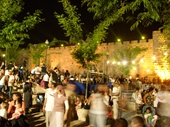 67 - Western Wall of Jerusalem during Passover festival