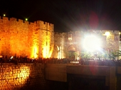 68 - Western Wall of Jerusalem during Passover festival