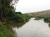 95 - Jordan River north of Sea of Galilee