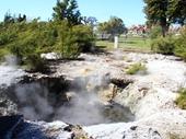 26 - Natural Geyser near Rotorua Museum