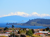 42 - View to Volcanoes from Taupo